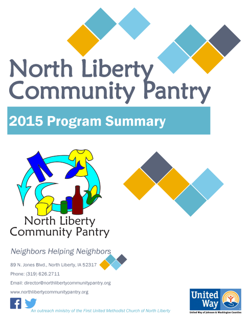 2015 Program Summary