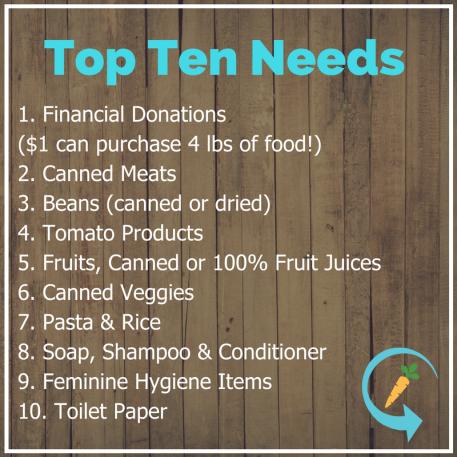 Top Ten Needs (1)