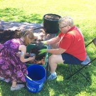 Bonnet Container Gardening